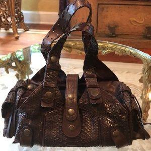 Chloe python Leather bag!